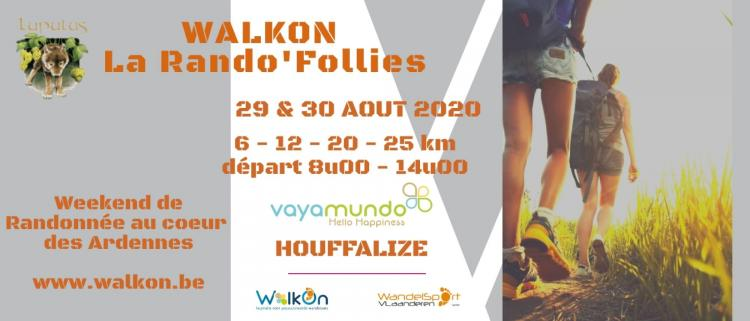 WALKON - La rando'Follies - Lupulus news - biere belge
