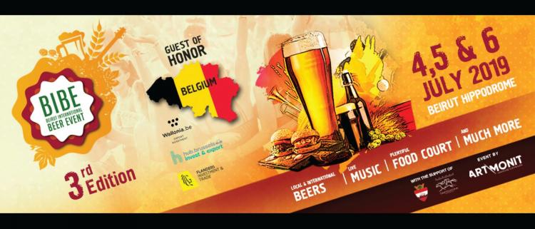 Beirut international Beer event - Lupulus news - biere belge